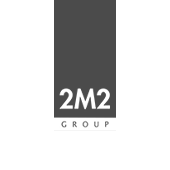 2M2 Group logo grey